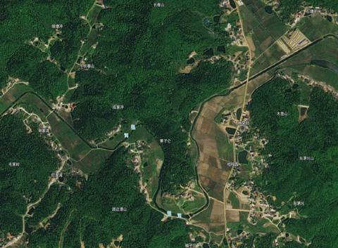 黄河几字弯天下皆知,韶河也有个,还被称为长江三峡的缩影