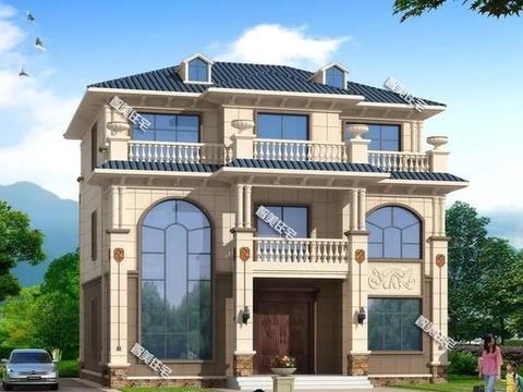 湖南网友最常选择,简欧风设计的两栋别墅,造型布局都是一流