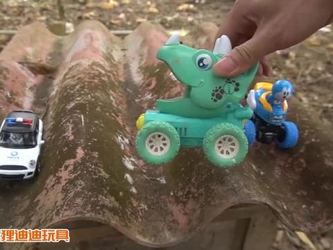 消防车、警车、挖掘机、铲车、推土车,10种工程车玩具大集合!