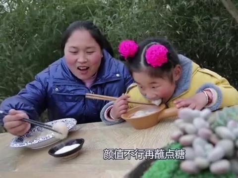 胖妹做的汤圆真馋人,一大碗吃下去美滋滋太舒坦了