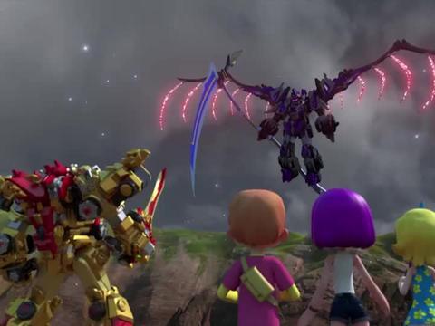 百兽总动员: 黑暗力量!暗影队长吞噬了阿汉!