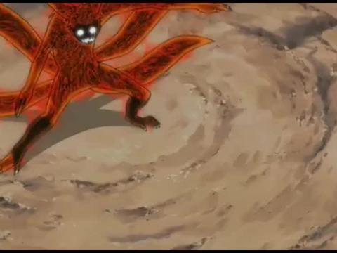 火影忍者:蛇叔一个忍术就吐出上百万条蛇!吓坏了九尾!