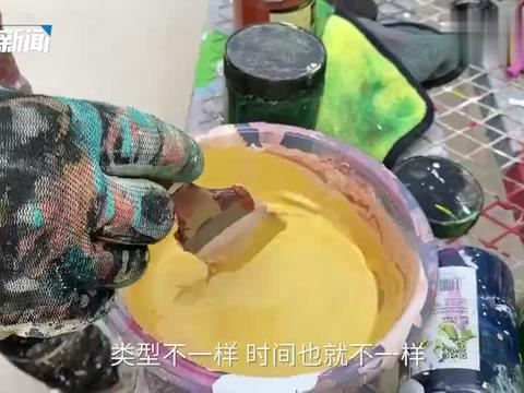 """小屯村的""""网红""""墙绘师:一把笔刷带火了整个村"""