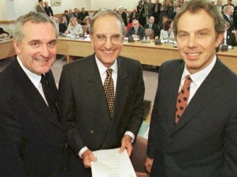 爱尔兰历史上的今天:《耶稣受难日协议》于23年前的4月10日签署
