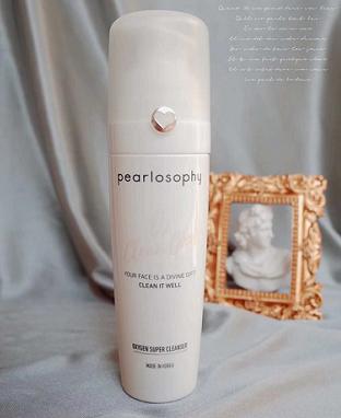 真珠美学泡泡洗面奶,带来净肤新体验