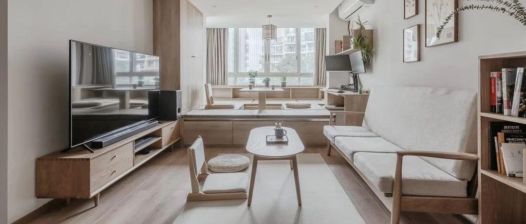 80㎡公寓原地扩容收纳大3倍,2.5㎡卫生间还能做到四分离!