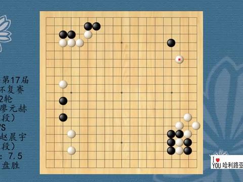 2021年第17届倡棋杯复赛第2轮,廖元赫VS赵晨宇,白中盘胜