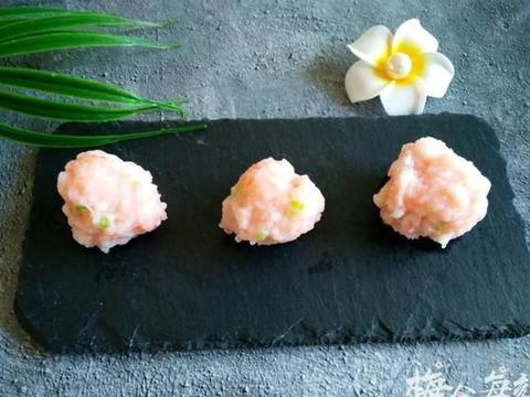 虾丸,滑嫩Q弹,味道鲜美营养高