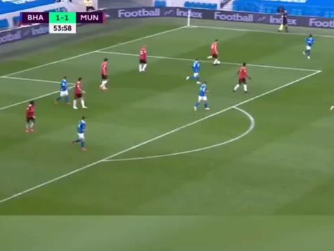 拉什福德再献华丽破门,曼联客场3比2逆转布莱顿