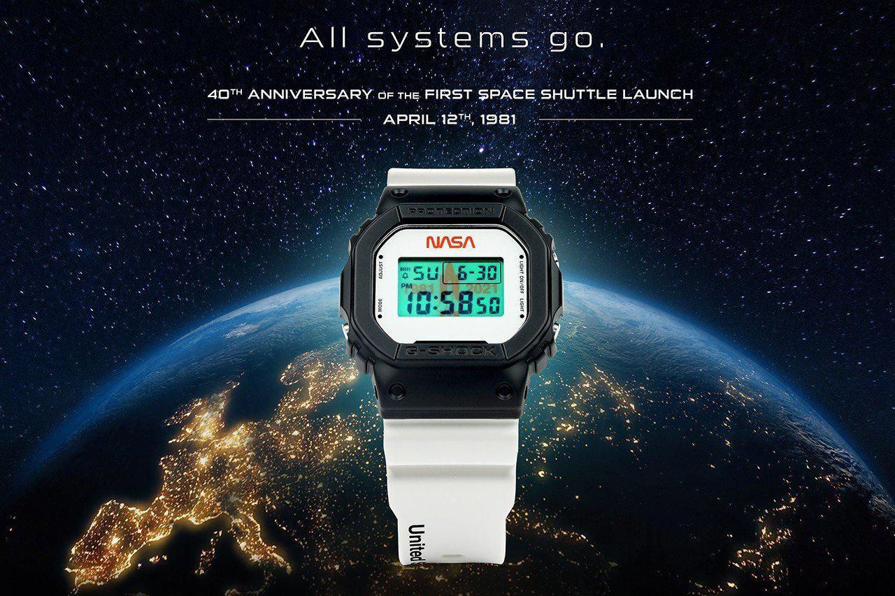 G-SHOCK 推出 NASA 特别纪念版腕表,简约不失帅气~