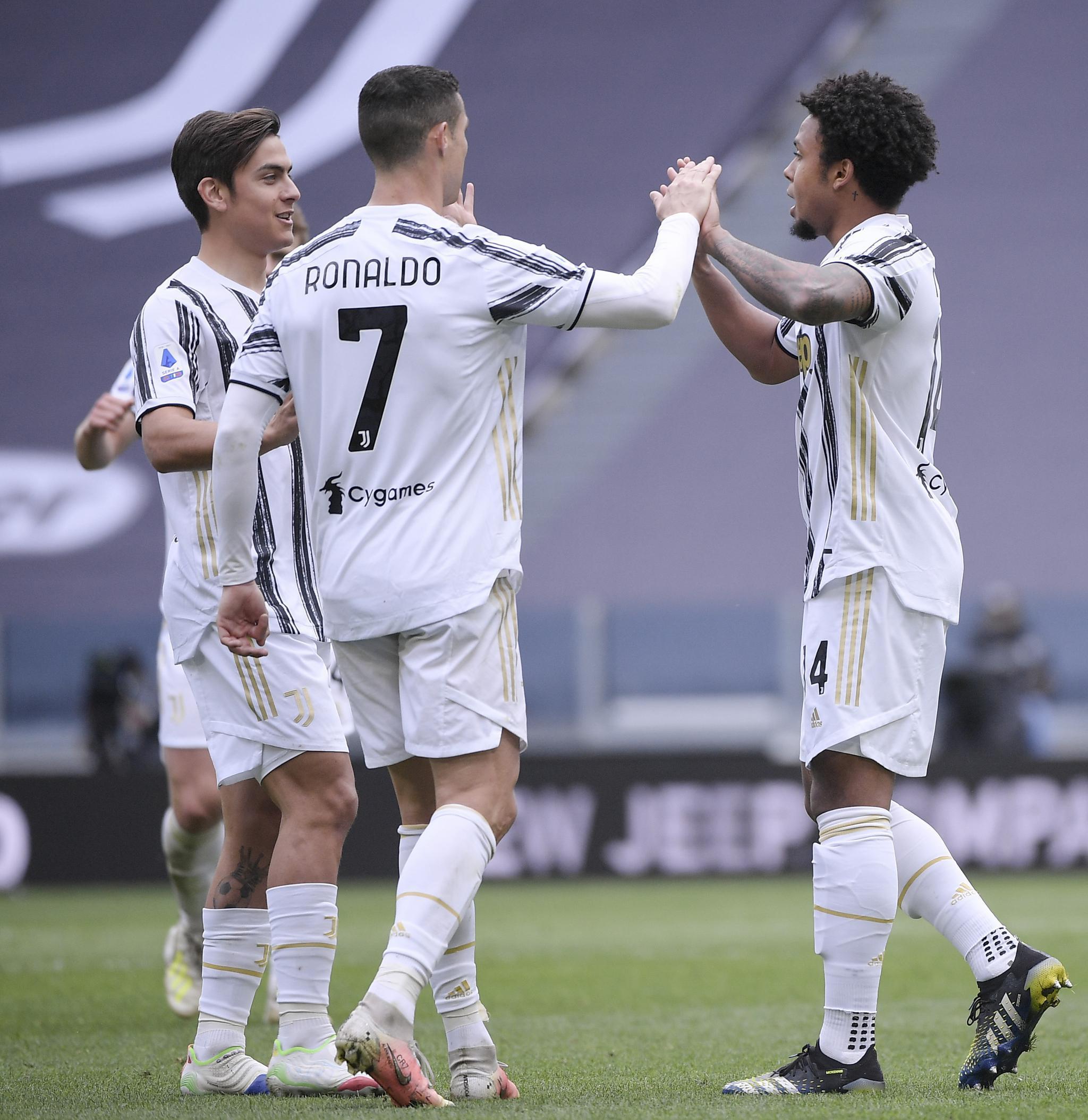 足球——意甲:尤文图斯胜热那亚