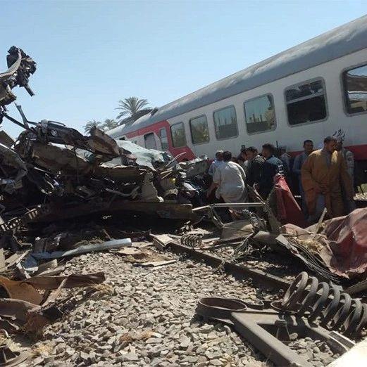 埃及火车相撞:多人吸毒导致?!