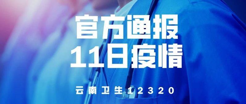 【官方通报】4月11日云南省新冠肺炎疫情情况:新增确诊病例2例