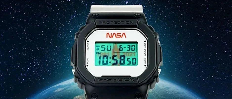 别再错过了,G-SHOCK的40th特别纪念版NASA腕表