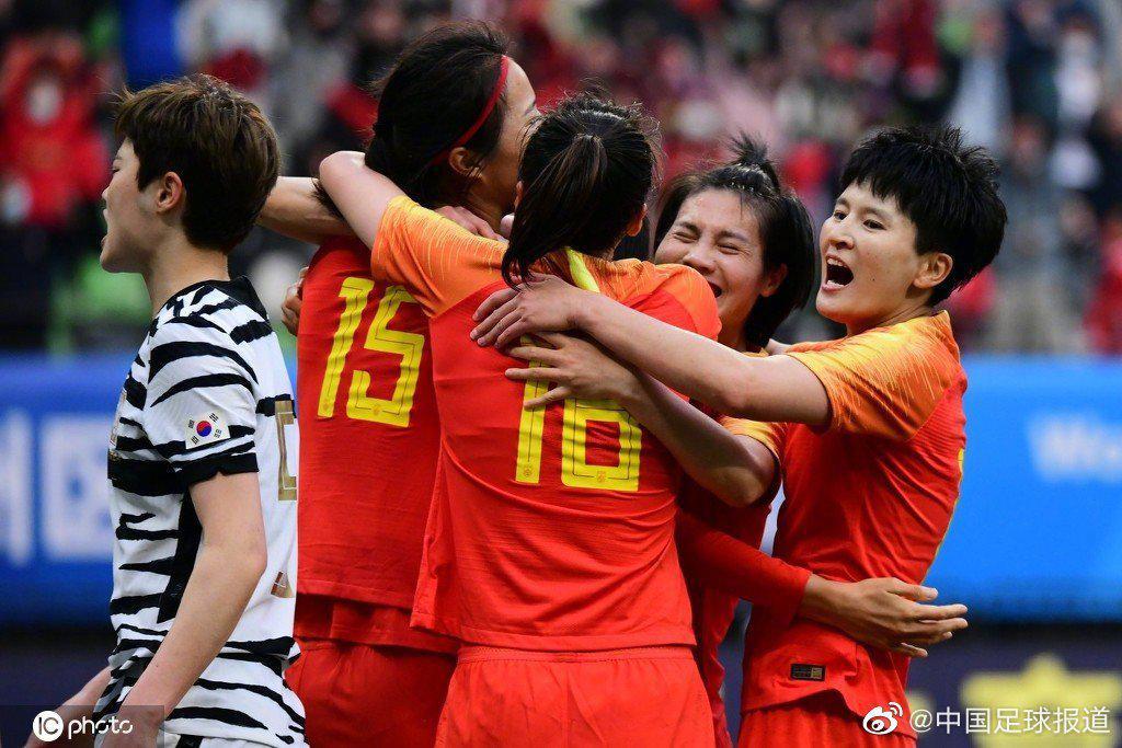 中国女足打进东京奥运会……
