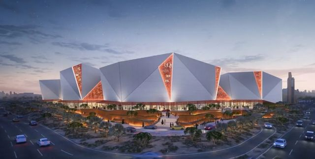沙特利雅得新地标Solitaire项目,建筑呈现晶体形态