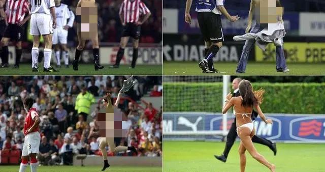 西班牙网红足球比赛现场裸奔,不惜蹲守14小时