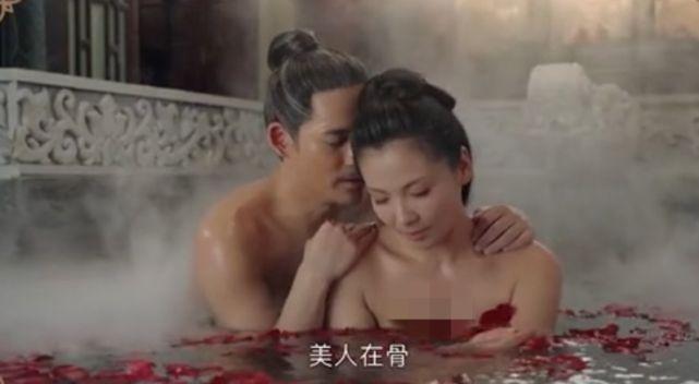 刘涛新戏再遭吐槽 与周渝民鸳鸯浴被指赘肉明显