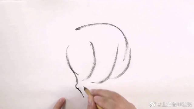 中国水墨画,写意肥水牛和人物意境,简单几笔就画出来