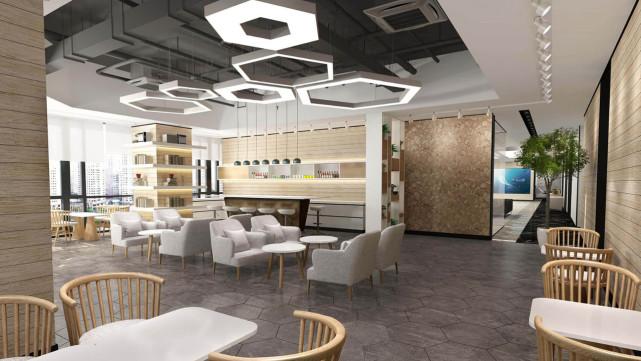 金恪建筑:办公室装修如何增加空间感?