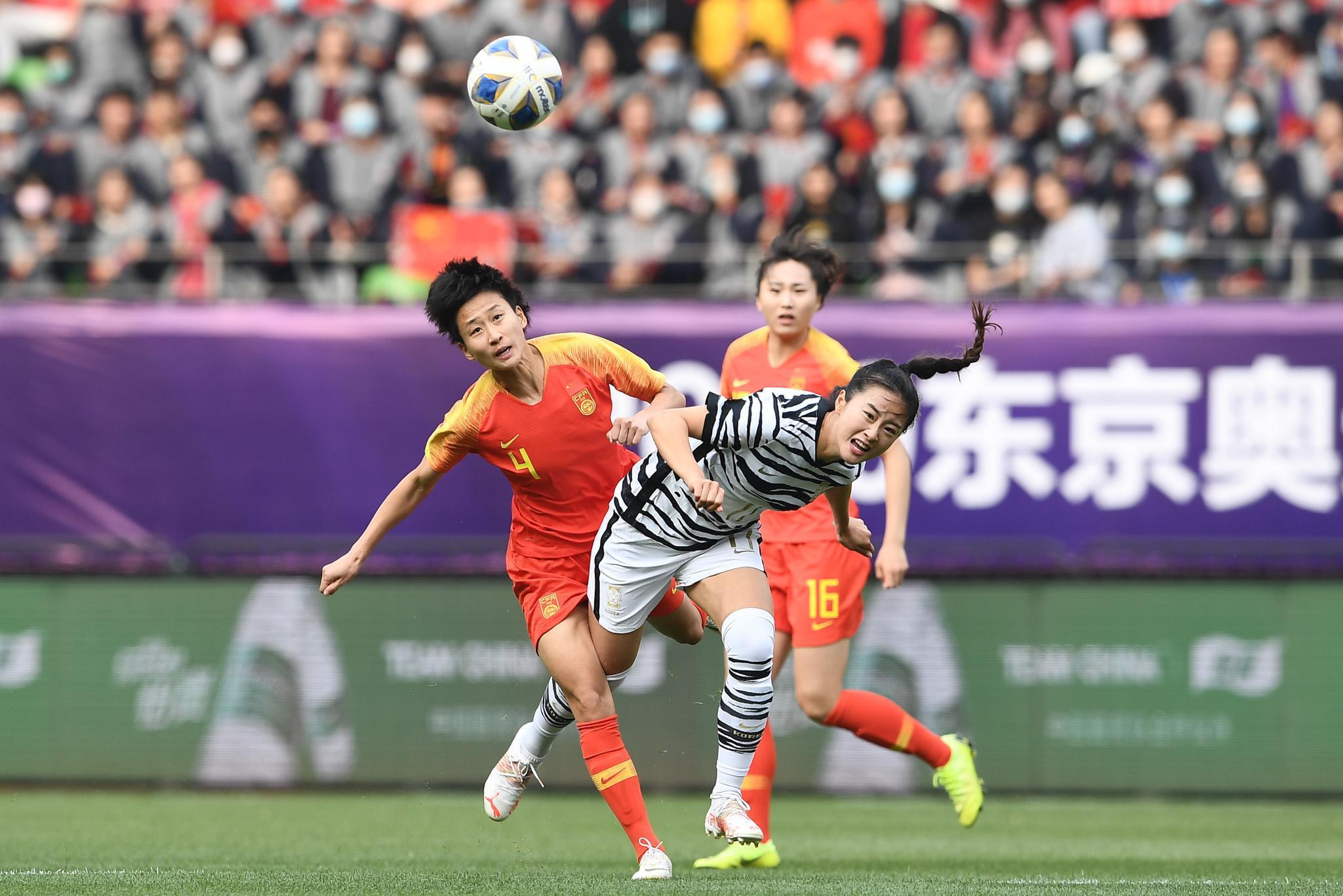 2020东京奥运会 女足亚洲区预选赛附加赛次回合……