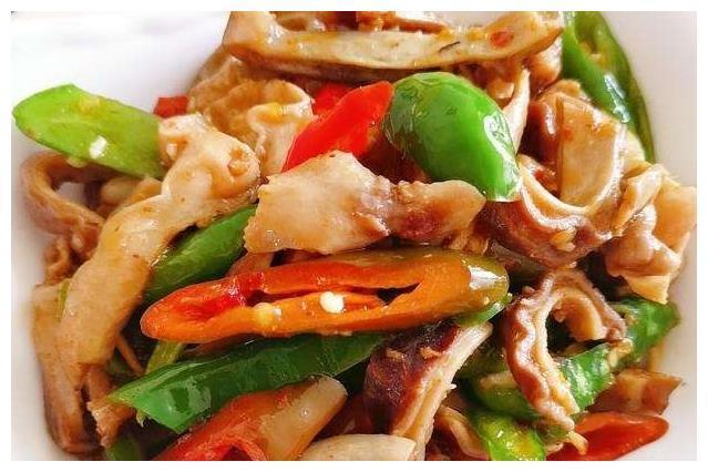 美食:五花肉炒菜花,炒猪肚,多味茄条,剁椒菜花粉丝煲的做法