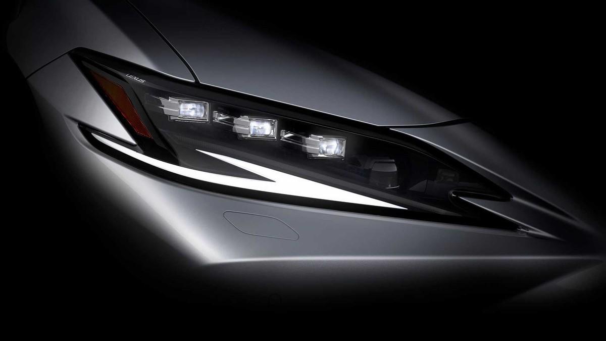 雷克萨斯将在上海车展发布ES改款车型