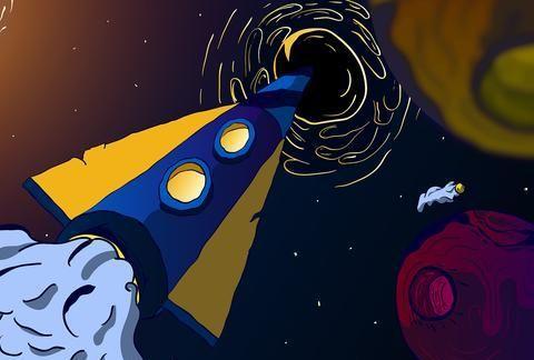 """""""黑洞""""究竟什么?是一个""""洞"""",还是漆黑的球形天体?"""