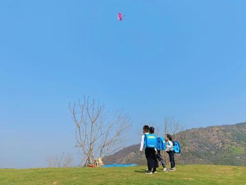 《一米天空》栏目走进汉华天马山,看萌娃邂逅山野寻秘之旅