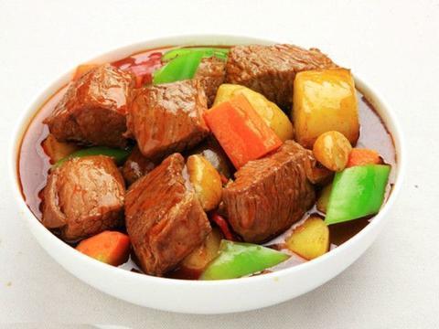 美食推荐:牛肉块炖土豆,鱼香肉丝,青笋烧排骨,凉拌黄豆芽