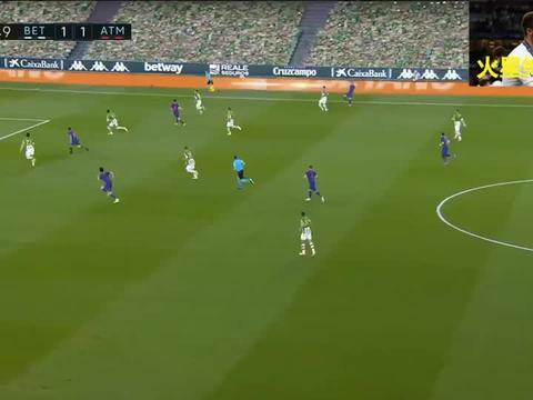 西甲:贝蒂斯1-1马竞,缺少苏亚雷斯的马竞攻击力大减!