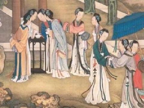 薛宝钗生活俭朴,穿半新不旧的衣裳