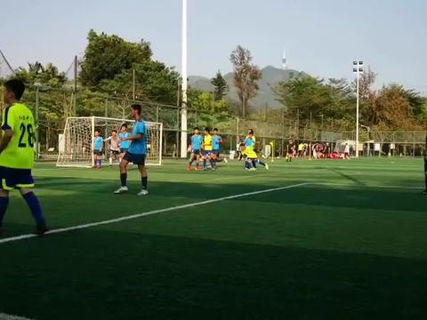 有模有样、青春荡漾的深圳学生足球比赛!