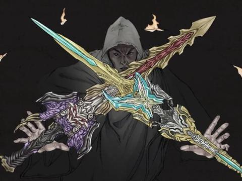 假面骑士:由圣刃插画师创作的9种怪人,龙凤帅气,麒麟成独角兽