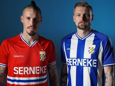 哥德堡2021赛季主客场球衣发布