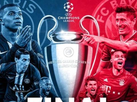 周二 004 欧冠杯 巴黎圣日尔曼 VS 拜仁慕尼黑