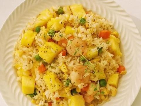 美食家常炒饭系列:菠萝虾仁炒饭,泰式鲜虾炒饭,韩式午餐肉炒饭