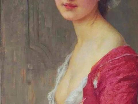 """法国画家 查尔斯笔下的仙女,用""""风华绝代""""形容,真不为过"""