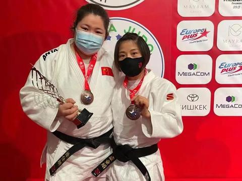 亚洲暨大洋洲柔道锦标赛中国队取得三金两银五铜