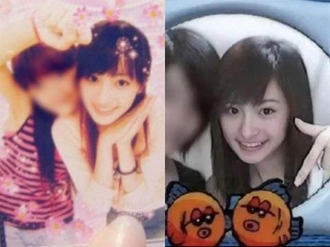 杨幂18岁时大头贴照片曝光,从小美到大,当时的小虎牙十分可爱