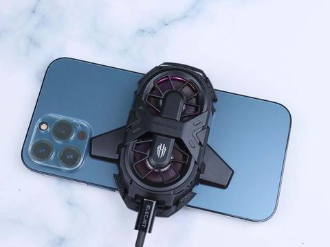 双核散热,红魔双核散热背夹助力iPhone摆脱暖手宝称号