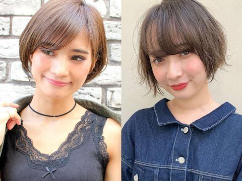 """""""圆脸""""和""""国字脸""""女生适合什么发型?三个细节证明,短发最好"""