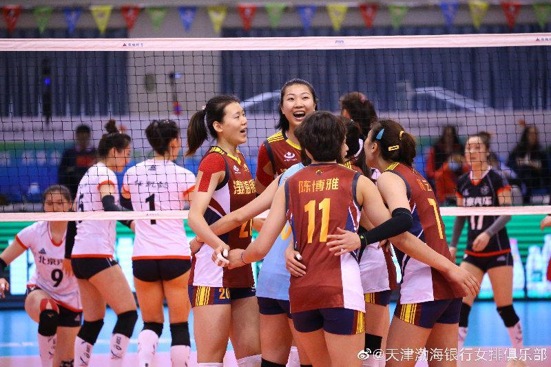 3-0轻取广东 天津女排六战全胜荣膺B组第一