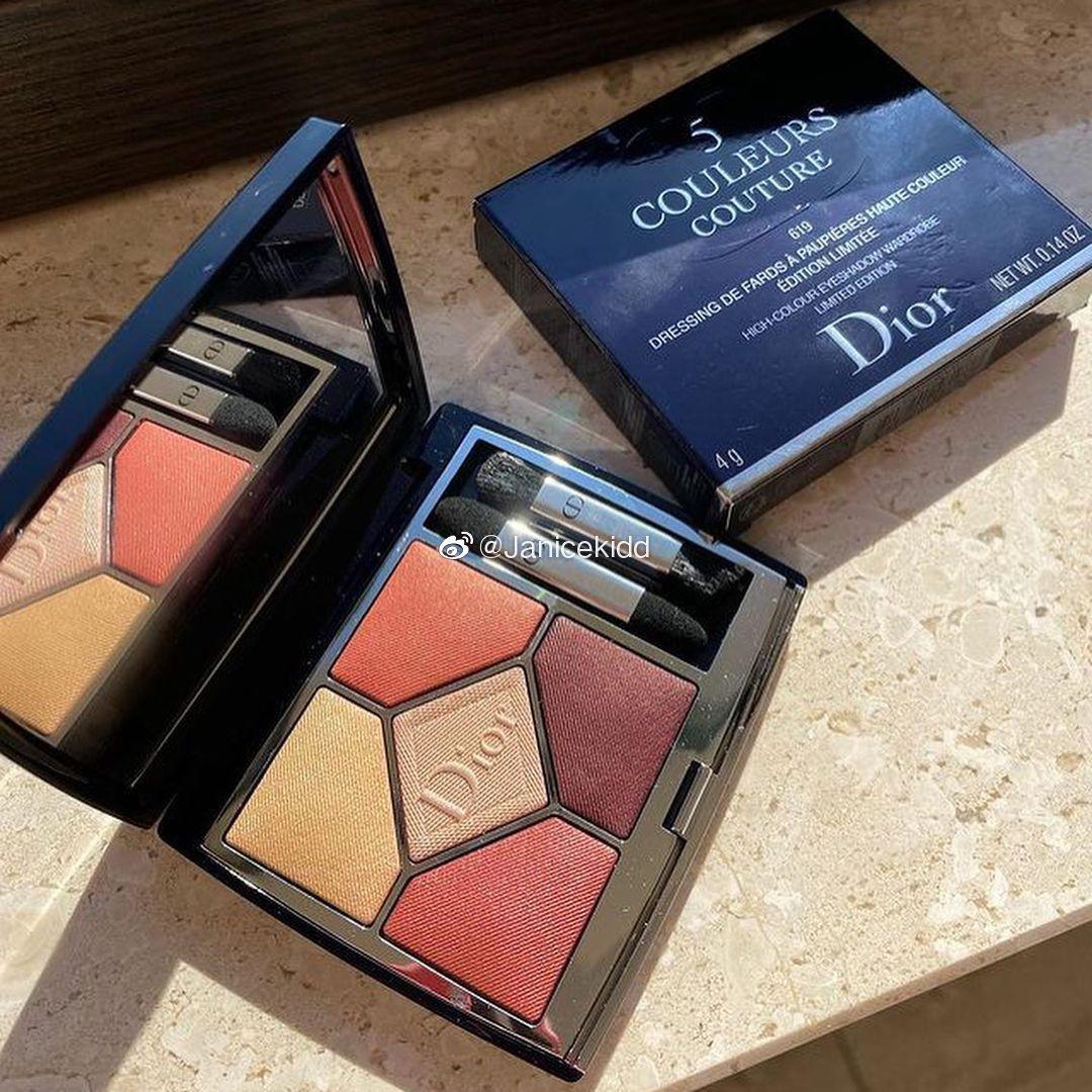 Dior 五色眼影盘将推出新色619,据介绍是作为常态色……
