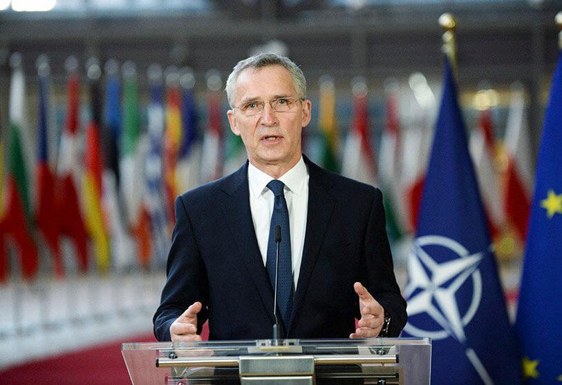 北约呼吁俄罗斯从乌克兰边境撤军