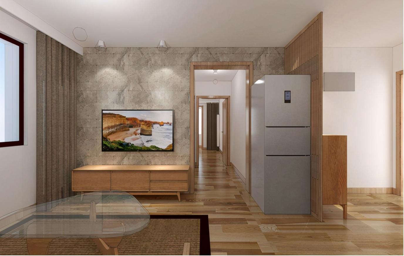 餐厅处设计榻榻米,扩展收纳机能,颜值倍增