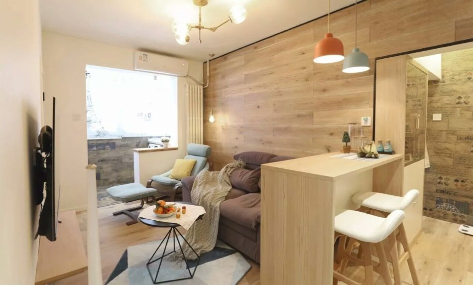 55平新房,主卧做个小改造,完工实用极了