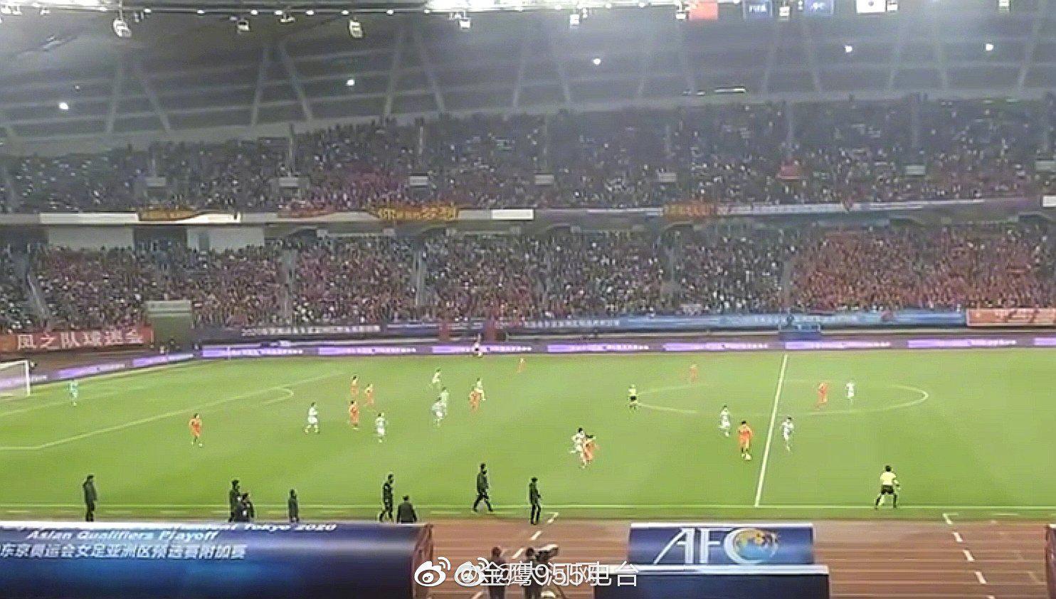 中国女足总比分4-3战胜韩国女足 晋级东京奥运会