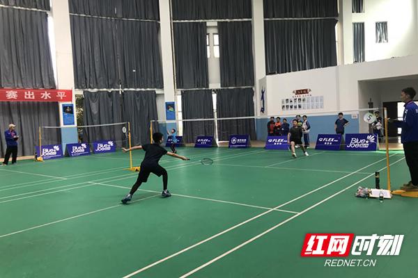 2021年天元区中小学生羽毛球赛火热开赛