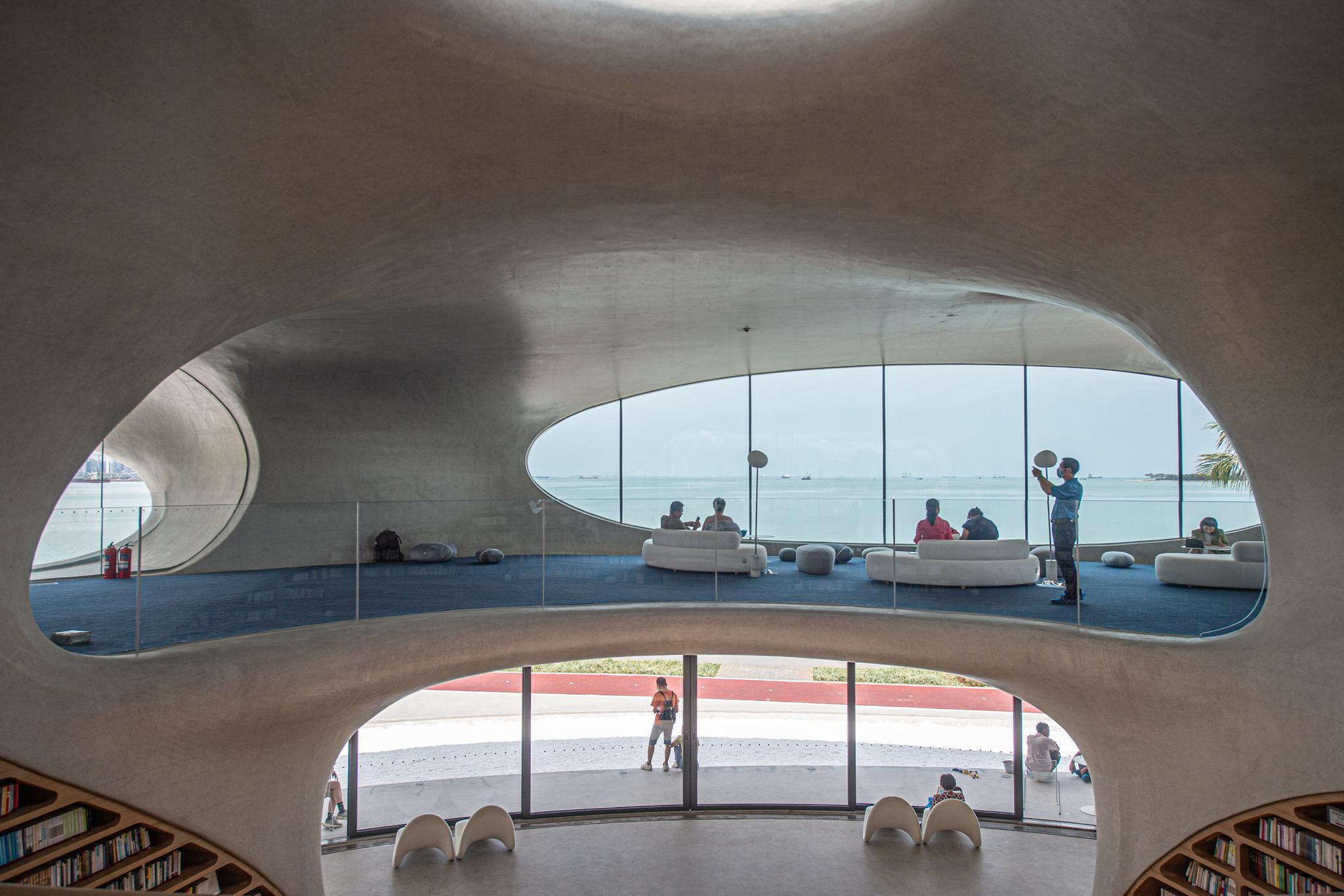 海口云洞图书馆向公众开放